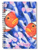 Clownfish Couple Spiral Notebook