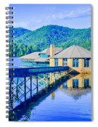 Clubhouse On Lake Tahoma Spiral Notebook