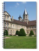 Cluny Abbey - Burgundy Spiral Notebook