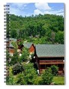 Cluster Cottages Spiral Notebook