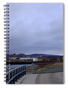 Clydebank Panorama Spiral Notebook