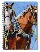 Clydesdale Duo Spiral Notebook