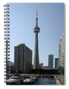 C N Tower Toronto Spiral Notebook