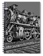 Cnr Number 47 Bw Spiral Notebook