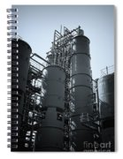 Coal Washing Plant Silos Spiral Notebook