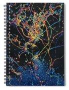 Coalescence Spiral Notebook