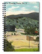 Coalinga Oil And Transportion Co. Pumping Station No. 2 Circa 1910 Spiral Notebook