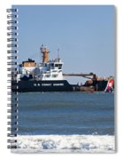 Coast Guard Cutter Spiral Notebook