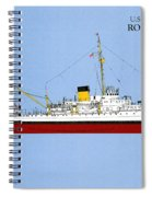 Coast Guard Cutter Taney Spiral Notebook