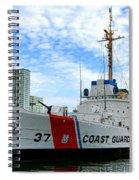 Coast Guard Cutter Taney Spiral Notebook