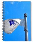 Coast Guard Flag Spiral Notebook