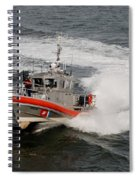 Coast Guard In Action Spiral Notebook