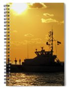 Coast Guard In Paradise - Key West Spiral Notebook