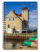 Coast Guard Station Spiral Notebook