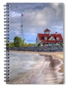 Coast Guard Station In Muskegon Spiral Notebook