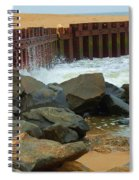 Coast Of Carolina Spiral Notebook