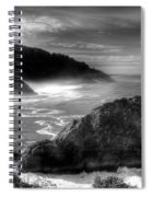 Coast Of Dreams 7 Bw Spiral Notebook