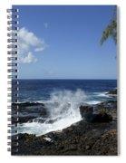 Coast Of Kauai Spiral Notebook