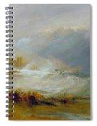 Coast Of Northumberland Spiral Notebook