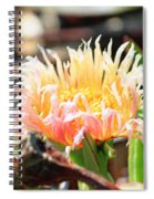 Coastal Bloom Spiral Notebook