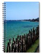 Coastal City Of St Malo France Spiral Notebook
