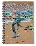 Coastal Crab Collection Spiral Notebook