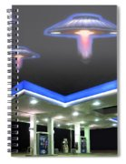 Coastal Fog Spiral Notebook