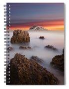 Coastal Glory Spiral Notebook