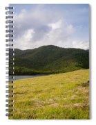 Coastal Hills Spiral Notebook
