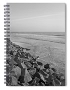 Coastal Lines Spiral Notebook