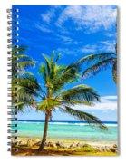 Coastal Palm Trees Spiral Notebook
