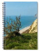 Coastal Path - West Bay To Eype  Spiral Notebook
