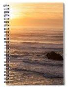 Coastal Rhythm Spiral Notebook