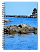 Coastal Route 1 In Maine Spiral Notebook