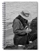 Coastal Salmon Fishing Spiral Notebook