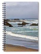 Coastal Serenity  Spiral Notebook