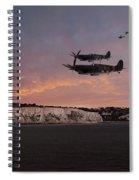 Coastal Spitfires Spiral Notebook