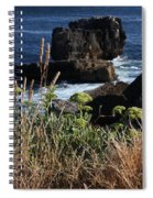 Coastal View From Cascais  Spiral Notebook