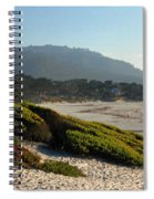Coastal View - Ice Plant II Spiral Notebook