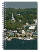 Coastal Village Spiral Notebook