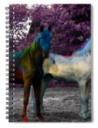 Coats Of Many Colors Spiral Notebook