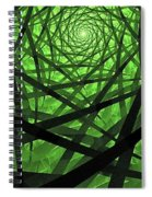 Coaxial Jungle Spiral Notebook