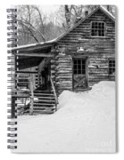 Slayton Pasture Cobber Cabin Trapp Family Lodge Stowe Vermont Spiral Notebook