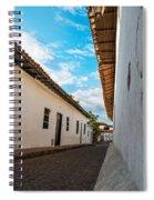 Cobblestone Street Spiral Notebook