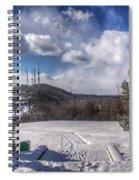 Cobbs Hill Park In Winter Spiral Notebook