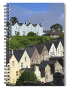 Cobh Town Houses Spiral Notebook