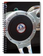 Cobra Steering Wheel Spiral Notebook
