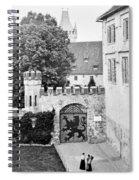 Coburg Castle Germany 1903 Spiral Notebook