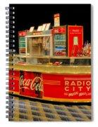 Coca Cola Spiral Notebook