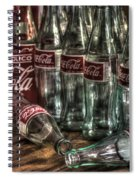 Coca Cola - Hecho En Mexico Spiral Notebook